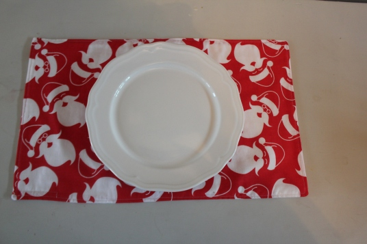 Santa Place-mat set of 4 $30