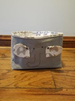 Elephant bin